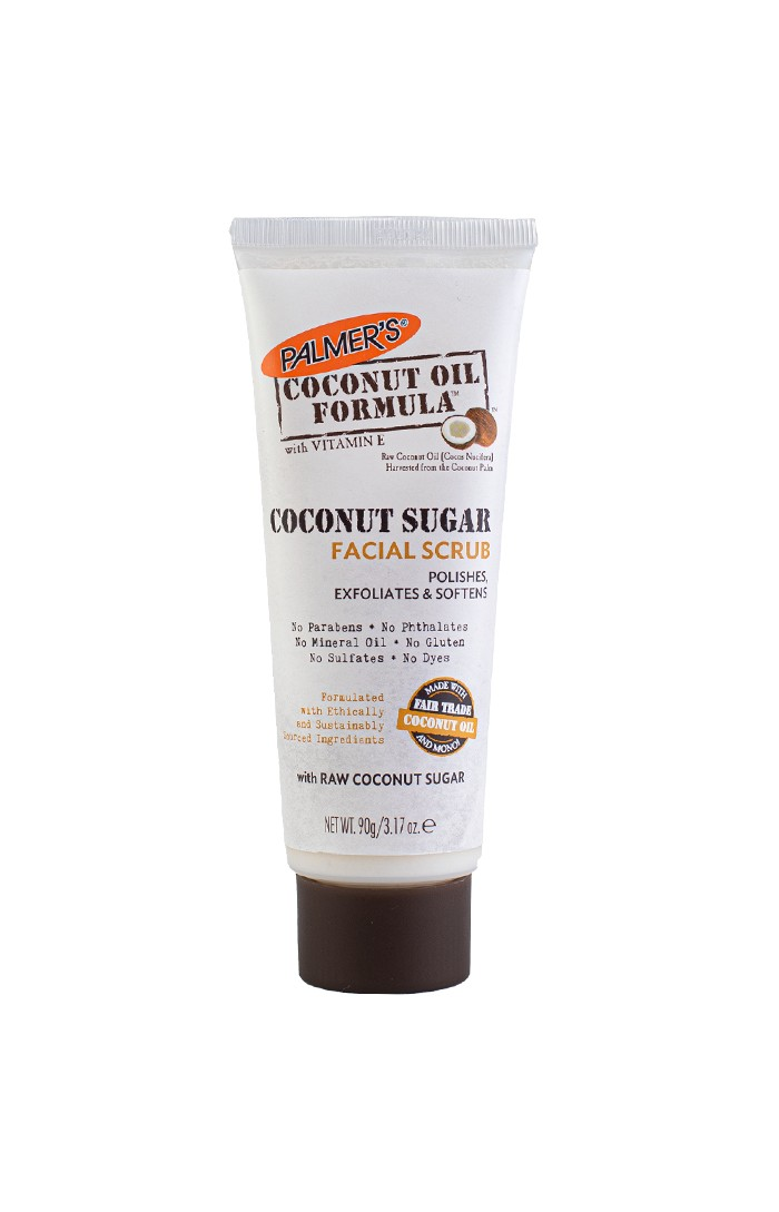 Palmer's Coconut Oil gently exfoliates and purifies for a brighter, fresher & more dewy complexion.